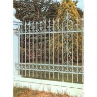 南京联润铁艺不锈钢装饰-围栏系列-锻钢围栏-LYB019