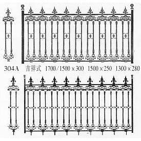 南京联润铁艺不锈钢装饰-围栏系列-铸铁围栏