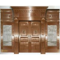 南京联润铜艺装饰-艺术铜门系列 -九牧传芳