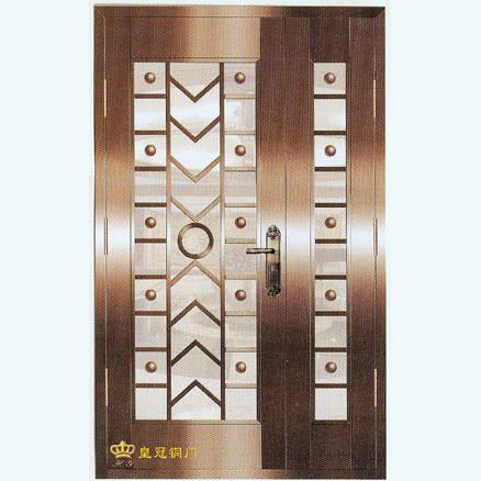 南京联润铜艺装饰-艺术铜门系列-吉星高照