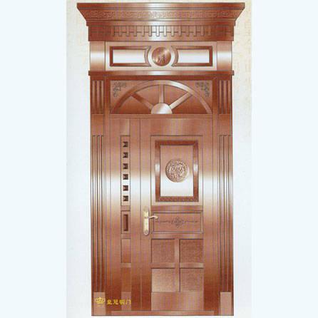 南京联润铜艺装饰-艺术铜门系列-东方日出
