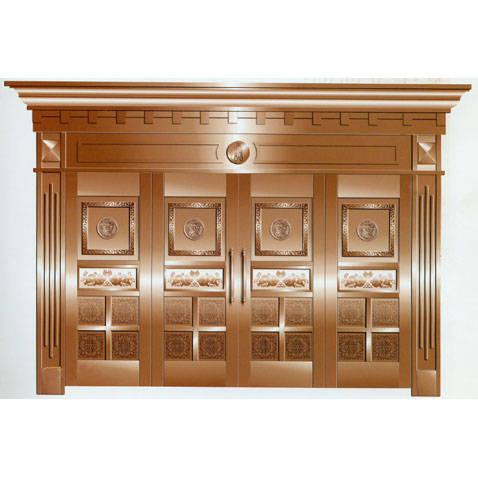 南京联润铜艺装饰-艺术铜门系列
