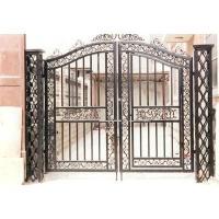 南京联润铁艺装饰工程公司-大门系列-铸铁大门