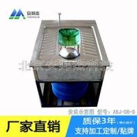 批发销售山西晋城环 保公厕脚踏式不锈钢打包便器