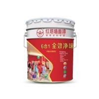 6合1全效净味墙面漆 内墙乳胶漆 红塔涂料