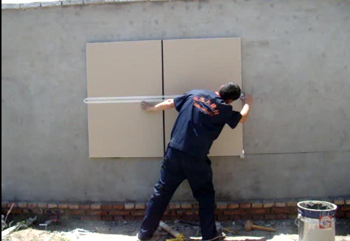 TDD保温装饰一体板安装工艺-外墙一体板