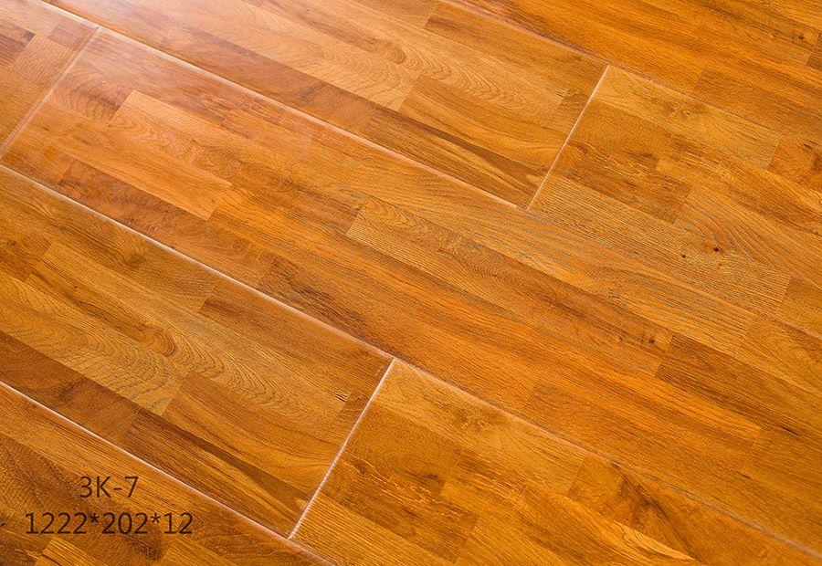 德寶鏤銑光麵強化地板 3K-7