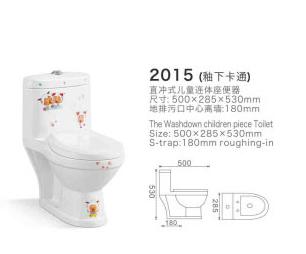 2015蒙娜丽莎儿童陶瓷马桶