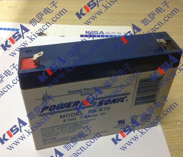 原装进口密封型铅酸蓄电池Power-SonicPS-610