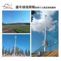标准11人制足球场灯300W盛牛防水足球场馆灯
