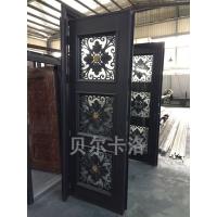上海贝尔卡洛高端意式铸铝门防火防盗