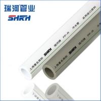 中国驰名商标 瑞河牌 PP-R管 PPR冷热水管 PPR给水