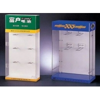 亚克力电池展示架|亚克力电池展示架|有机玻璃展示盒