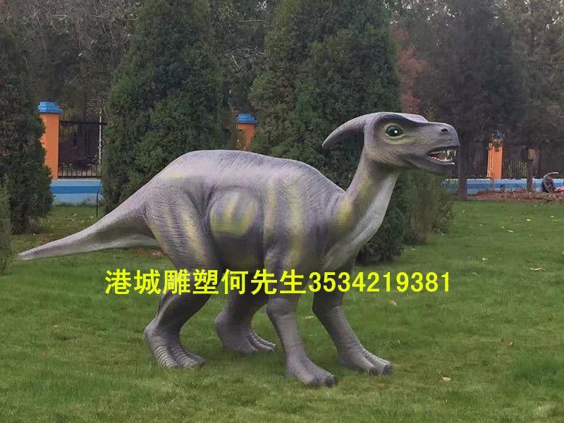 景区装饰仿真玻璃钢恐龙雕塑