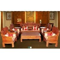 廣東名牌紅木家具廠家 富億家直銷寶馬十一件套沙發 - 紅木沙