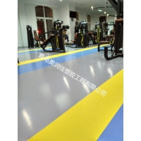 健身房地胶,PVC运动地板