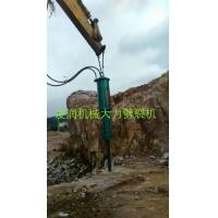 矿山石材开采专用岩石劈裂机
