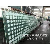 无锡彩釉玻璃批发、8mm10mm12mm15mm超白彩釉玻璃