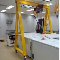 手推式龙门吊简易起重机YF-1型吊机