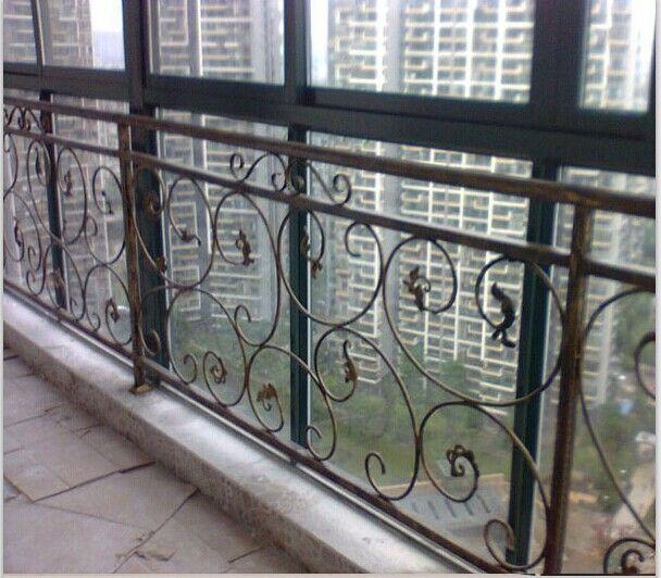 欧式铁艺窗户防护栏 飘窗 护栏