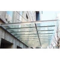 钢结构玻璃雨棚 彩钢车棚 安装订做