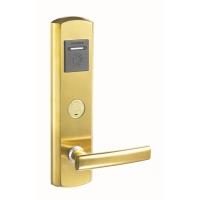 智能门锁 北京劲卫智能门锁D1型304不锈钢材锁面酒店锁