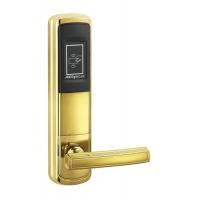 电子门锁 北京劲卫电子门锁JWM-F7型金色酒店门锁