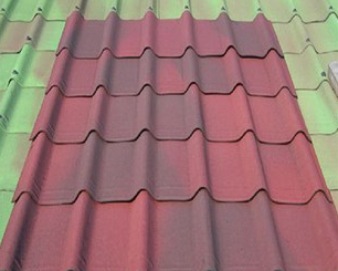 辽宁大连建筑物屋顶陶感三维沥青瓦