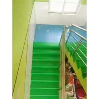 学校专用防滑踏步板同质透心材质