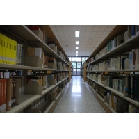 图书馆天花装修吊顶方形铝扣板