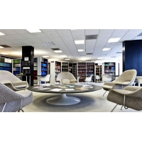 高端办公室装修吊顶铝合金精装扣板系列天花