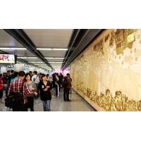 江苏地铁站吊顶装饰冲孔防火吸音铝扣板天花