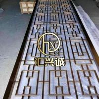 北京不锈钢屏风 酒店不锈钢屏风 玫瑰金屏风供应
