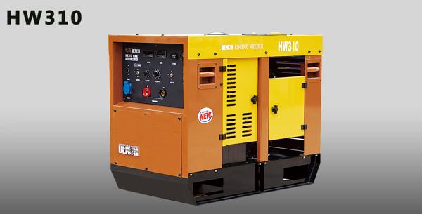电王HW310美国科勒汽油双缸发电焊机