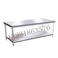 衡水商用双层工作台,衡水不锈钢操作台,衡水厨房设备