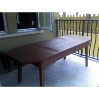 防腐木休闲桌