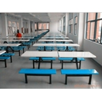 厂家供应玻璃钢餐桌4人条凳/圆凳餐桌 快餐桌椅