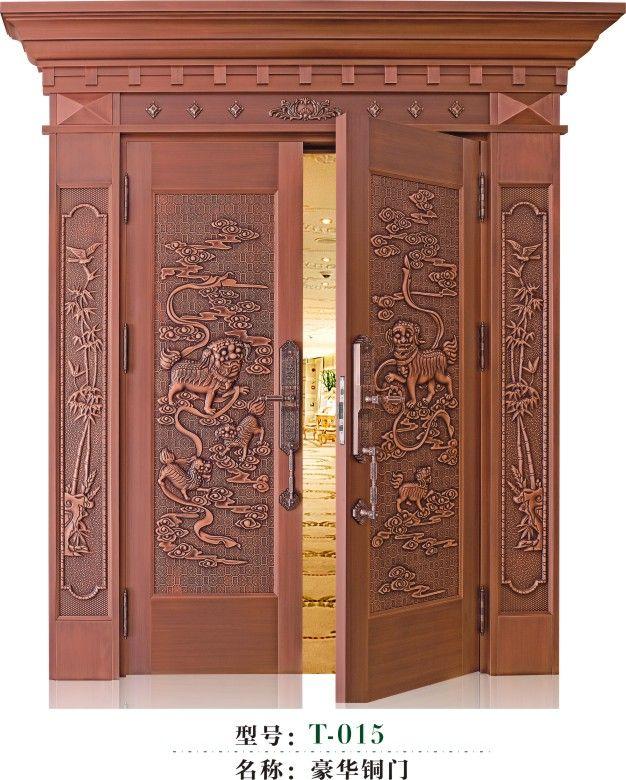 豪华铜门T015