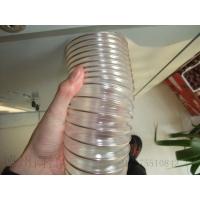 上海塑胶直销pu塑筋波纹伸缩螺旋管木工机械吸尘软管