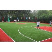 东旭塑胶地板提供的人造草坪篮球场哪里好