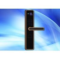 指纹密码刷卡遥控智能防盗锁