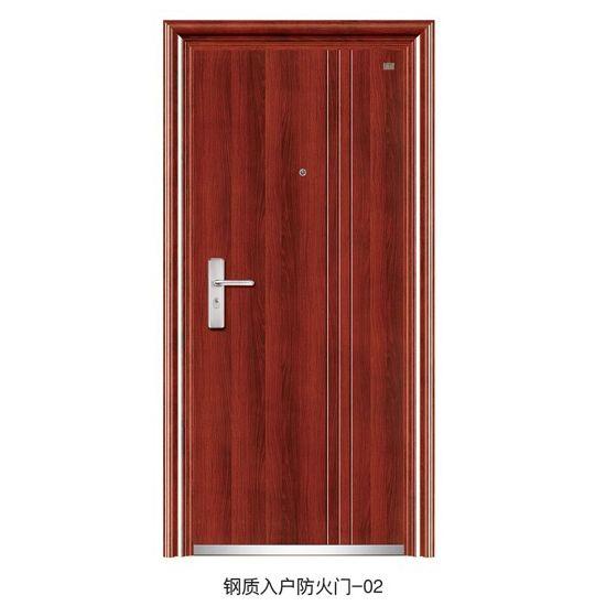 钢质入户防火门-02 四川防火门厂家