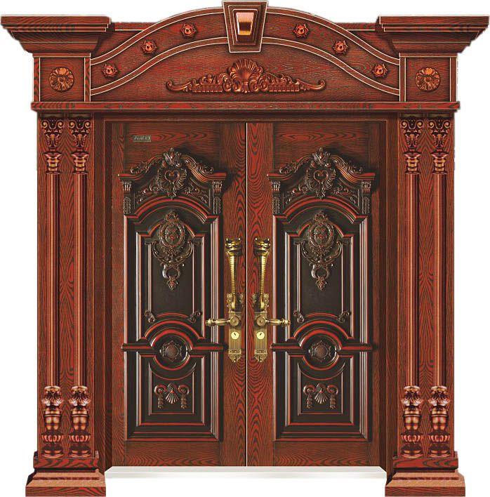 10公分宫廷宝典(双开门)甲级-古典红橡