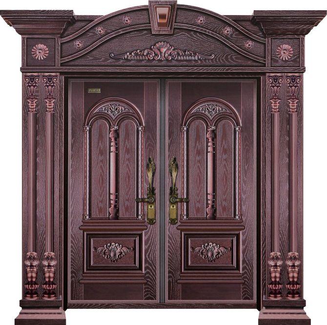 10公分罗马世家(双开门)甲级-紫铜2#