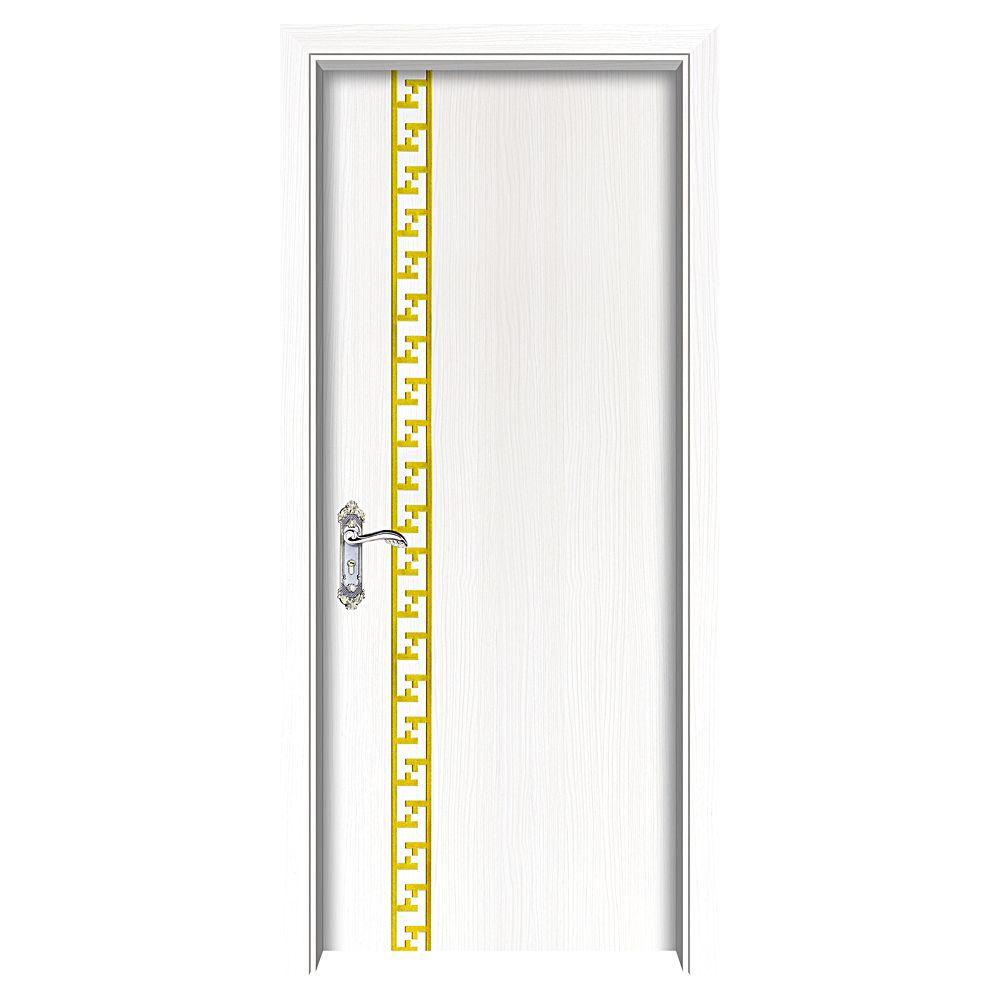 大前高端模压木门系列套装门DQ-3002(白枫木)