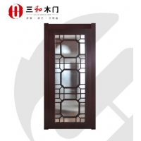 三和木门 SHFBM1501 实木复合玻璃门