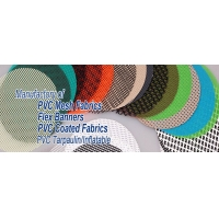 供应pvc网格布 阻燃布 透明夹网布(图)