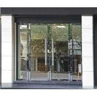 东丽区无框玻璃门安装,东丽区黄钛金全框玻璃门