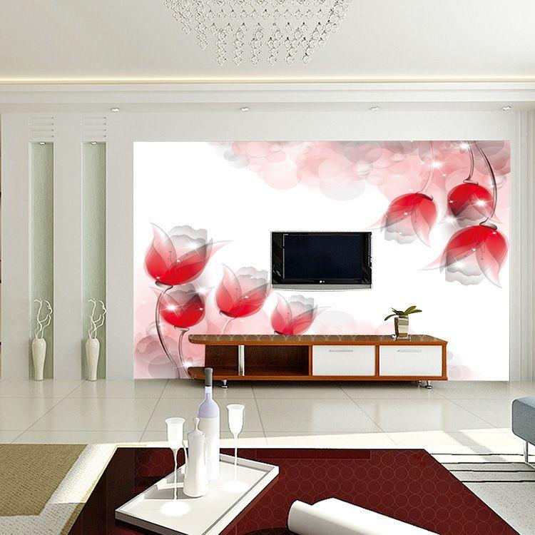个性无缝墙布墙纸 客厅电视背景墙