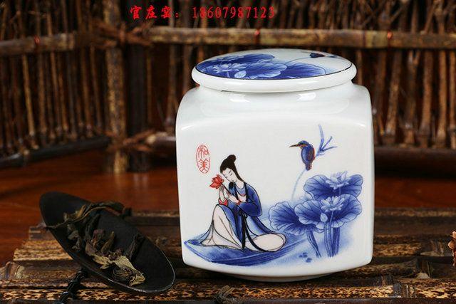 景德镇陶瓷罐子加工生产 陶瓷食品罐批发
